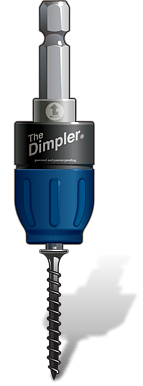 The new Dimpler<sup>®</sup> from lets You Drive Screws Like a Pro!