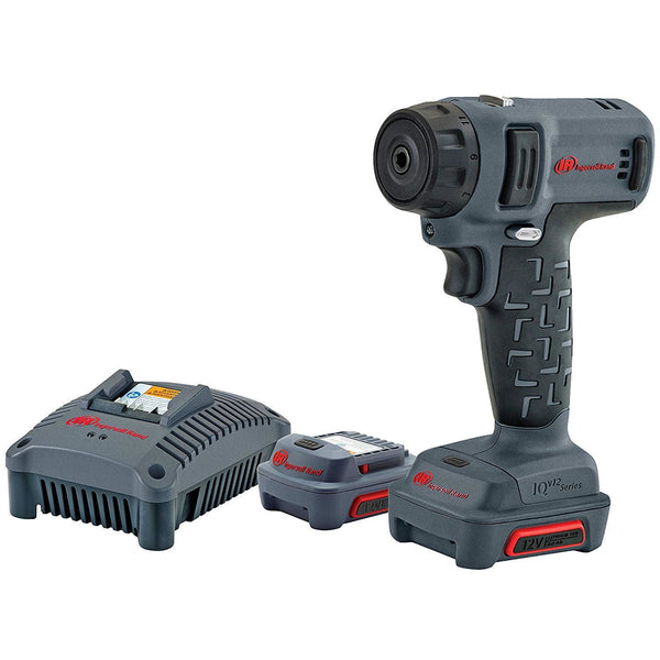"Ingersoll Rand D1410-K2 1/4"" 12V Cordless Screwdriver Kit - Power Tool Traders"