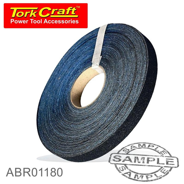 EMERY CLOTH 25MM X 180 GRIT X 50M ROLL - Power Tool Traders