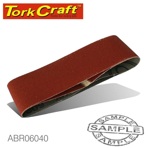 SANDING BELT 75 X 457MM 40GRIT 2/PACK - Power Tool Traders
