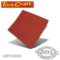 CABINET PAPER 230 X 280 60 GRIT 50 PER PACK (DIY) - Power Tool Traders