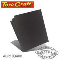 WATER PAPER 230 X 280MM 400 GRIT WET & DRY 50 PER PACK (DIY) - Power Tool Traders