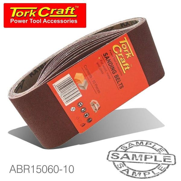 SANDING BELT 100 X 560MM 60 GRIT 10/PACK - Power Tool Traders