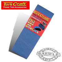 SANDING BELT ZIRCONIUM 100 X 610MM 80GRIT 2/PACK - Power Tool Traders