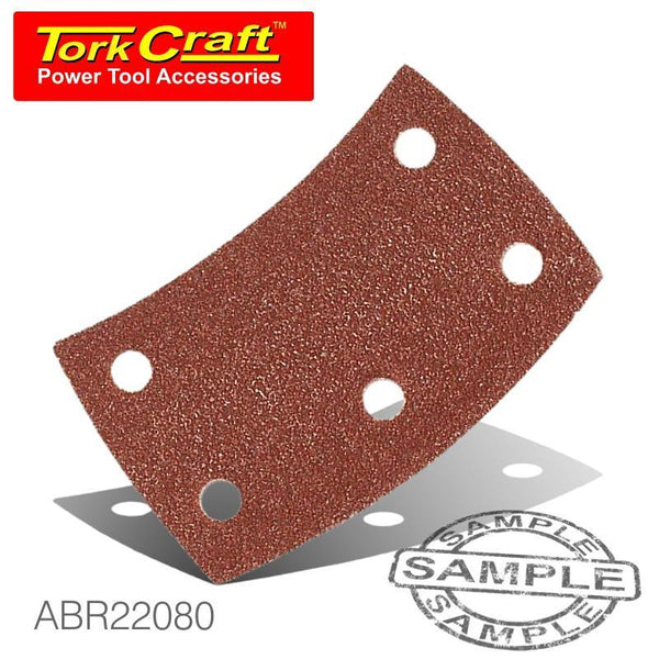 SANDING PADS CURVED 80 GRIT VELCRO - Power Tool Traders