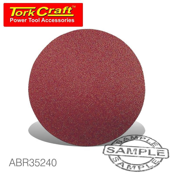 SANDING DISC VELCRO 150MM 240 GRIT 10/PK - Power Tool Traders