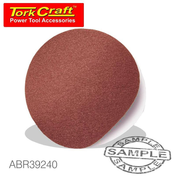 SANDING DISC PSA 125MM 240 GRIT NO HOLE 10/PK - Power Tool Traders