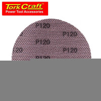 DURA MESH ABR.DISC 150MM VELCRO 120GRIT BULK FOR SANDER POLISHER - Power Tool Traders