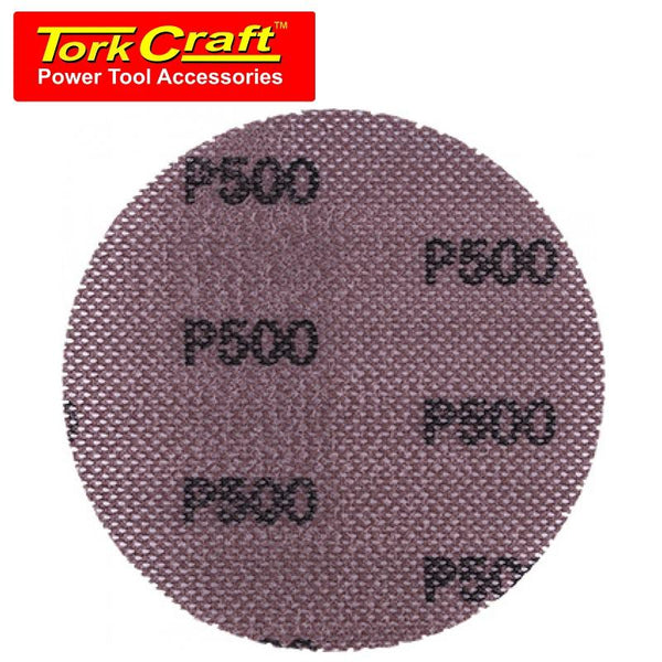 DURA MESH ABR.DISC 150MM VELCRO 500GRIT BULK FOR SANDER POLISHER - Power Tool Traders