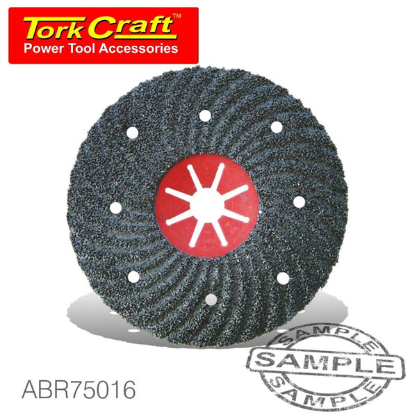 VULCANIZED FIBRE DISC 180MM 16 GRIT BULK - Power Tool Traders