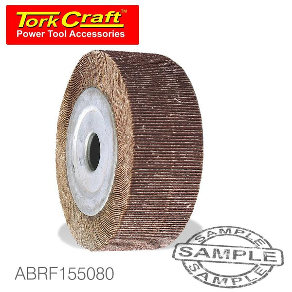 FLAP WHEEL 150 X 50 X 25MM BORE 80 GRIT PER EACH - Power Tool Traders