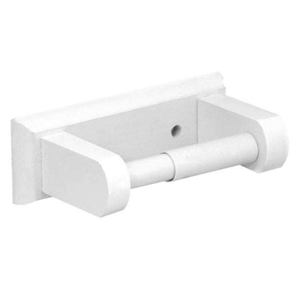 TOILET ROLL HLDOOR  WHITE - Power Tool Traders