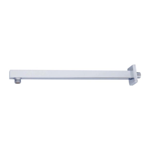 SHOWER ARM STAINLESS STEEL-SQUARE - Power Tool Traders