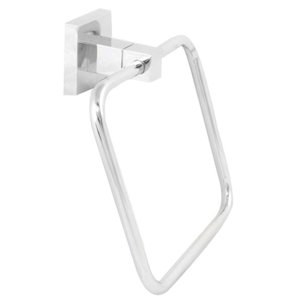 STAINLESS STEEL & ZINC TOWEL RING - Power Tool Traders