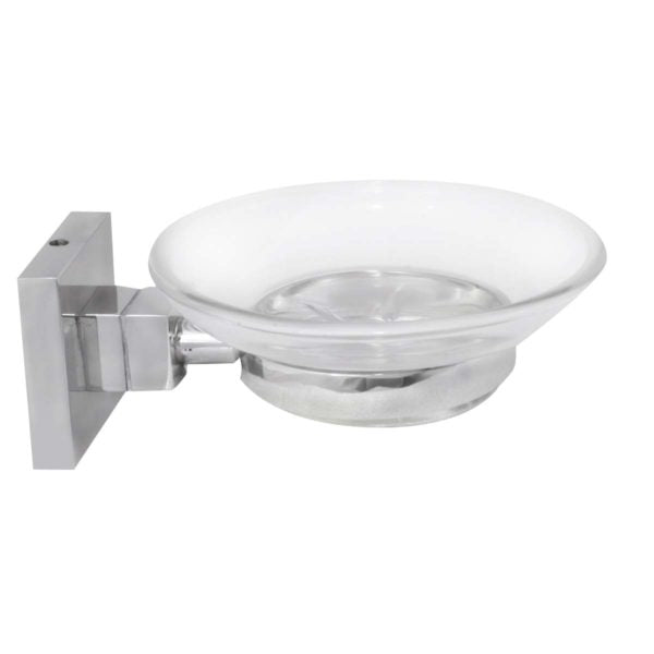 STAINLESS STEEL &ZINC SOAP DISH HOLDER - Power Tool Traders