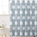 HONEY COMB PEVA SHOWER CURTAIN - Power Tool Traders