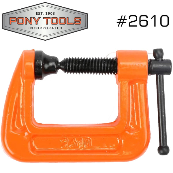 PONY 25MM 1' C-CLAMP - Power Tool Traders