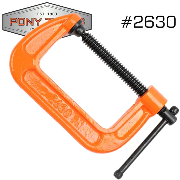 PONY 75MM 3' C-CLAMP - Power Tool Traders