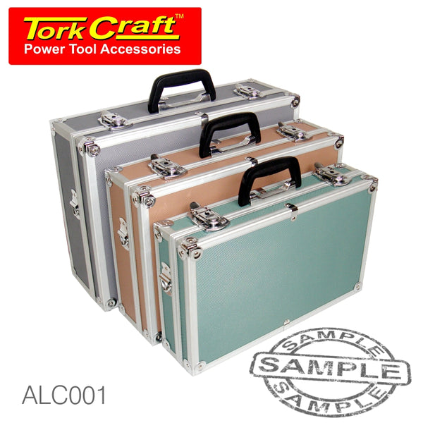ALUMINIUM TOOL CASE 3 IN 1 SET - Power Tool Traders