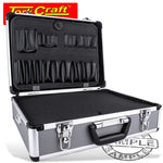 ALUMINIUM CASE 45.5 X 33 X 15.2 WITH 5 X DIVIDERS AND FOAM INSERTS - Power Tool Traders