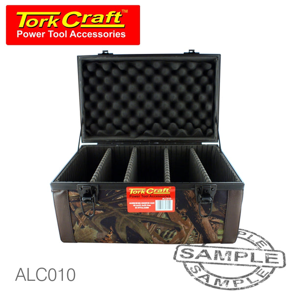 POLYURETHANE AMMUNITION CASE 40.6 X 25.4 X 22.2 CAMOUFLAGE - Power Tool Traders