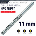 HSS SUPER DRILL BIT 11MM - Power Tool Traders