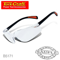 SAFETY EYEWEAR GLASSES CLEAR - Power Tool Traders
