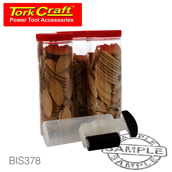 378PC WOOD BISCUIT KIT - Power Tool Traders