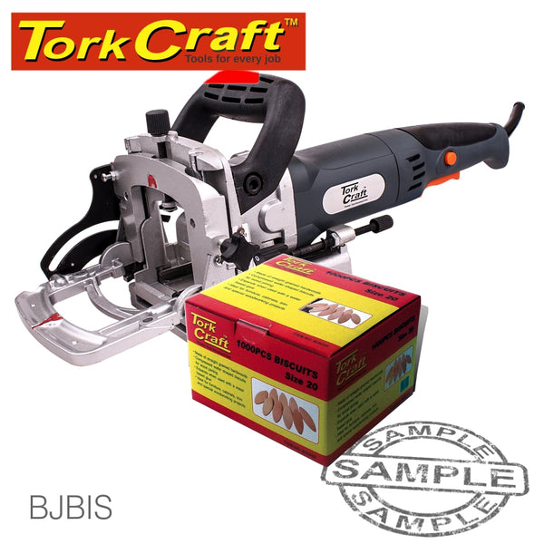 BISCUIT JOINTER AND FREE BOX  #20 BISCUITS SPECIAL - Power Tool Traders