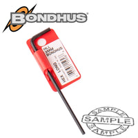 HEX END L-WRENCH 3.0MM PROGUARD SINGLE BONDHUS - Power Tool Traders