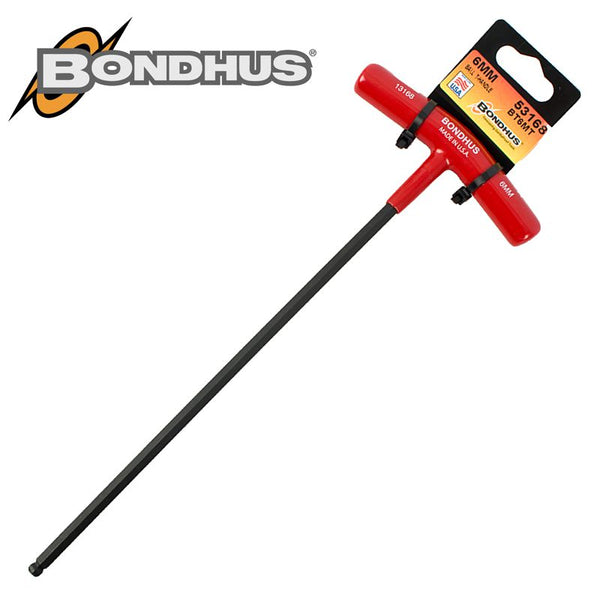 BALL END T-HDL 6.0MM PROGUARD SINGLE BONDHUS - Power Tool Traders
