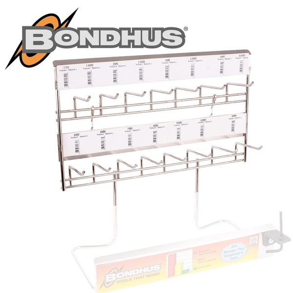 BONDHUS DISP.MODULE 14 HOOK FOR SINGLE L-WRENCHES - Power Tool Traders