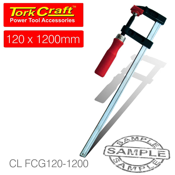 CLAMP GERMAN F-TYPE 120 X 1200MM - Power Tool Traders