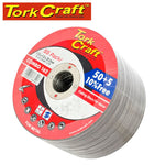 50 + 5 FREE CUTTING DISC METAL 115 x 1.0 x 22.2 MM - Power Tool Traders