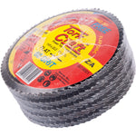 FLAP DISC ZIRCONIUM 115MM 60 GRIT FLAT 4+1 FREE - Power Tool Traders