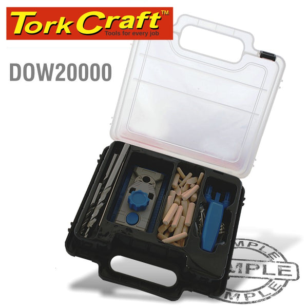 DOWELING AND POCKET HOLE JIG KIT - Power Tool Traders