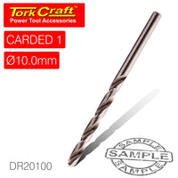 DRILL BIT HSS INDUSTRIAL 10.0MM 135DEG 1/CARD - Power Tool Traders