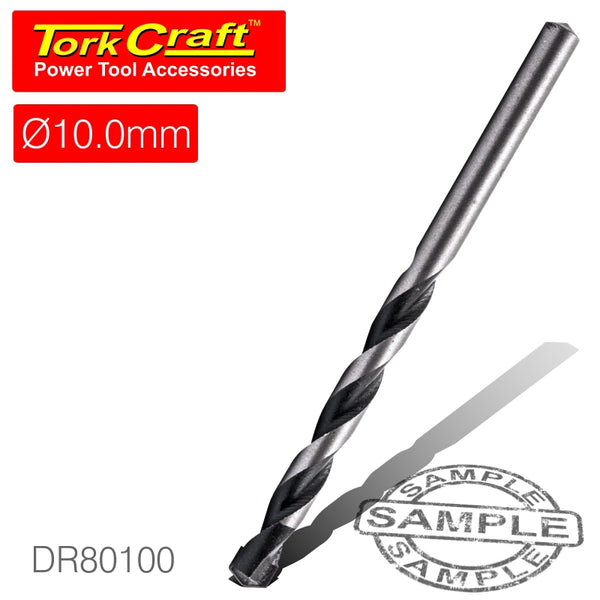 DRILL BIT MASONRY/CONCRETE  10MM 1/CARD - Power Tool Traders