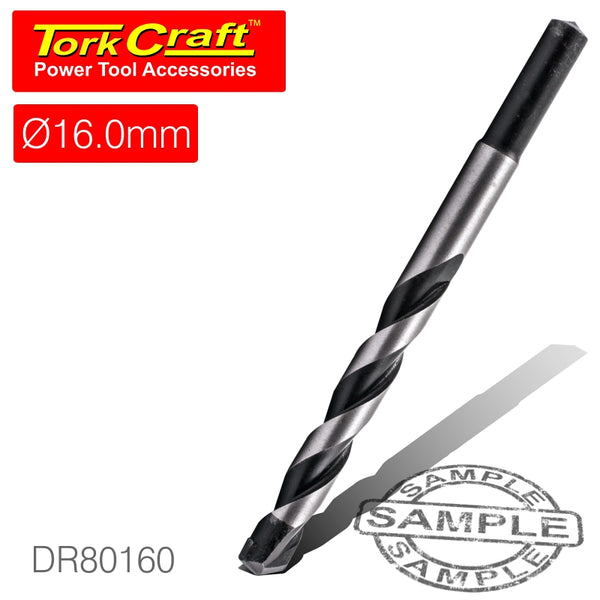 DRILL BIT MASONRY/CONCRETE  16MM 1/CARD - Power Tool Traders