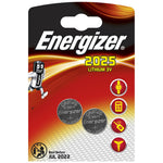 ENERGIZER CR2025BS1 3V LITHIUM COIN BATTERY (2 PACK) (MOQ12) - Power Tool Traders