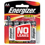 ENERGIZER MAX: AA - 8 PACK (MOQ 12) - Power Tool Traders