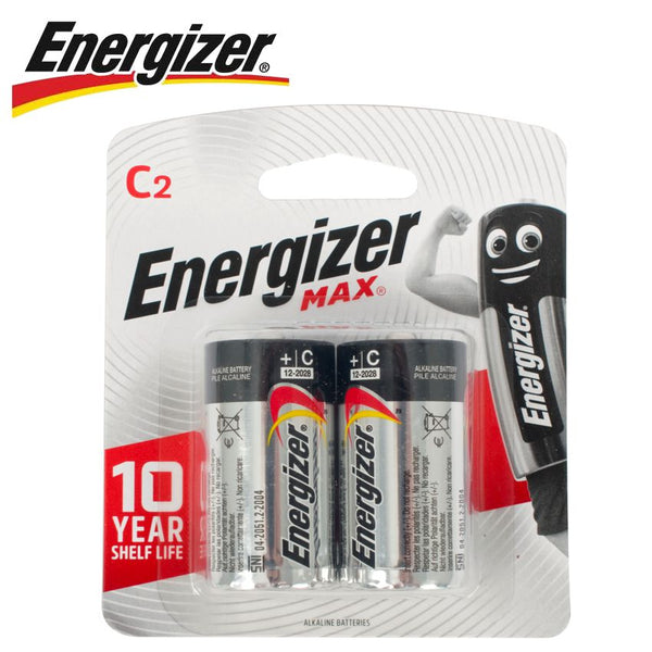 ENERGIZER MAX C - 2 PACK (MOQ 6) - Power Tool Traders