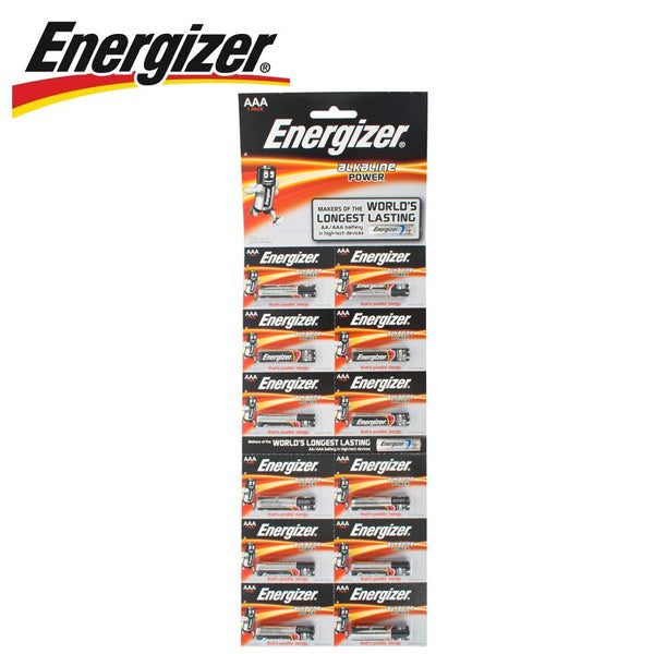 ENERGIZER POWER AAA - 12 PACK STRIP - Power Tool Traders