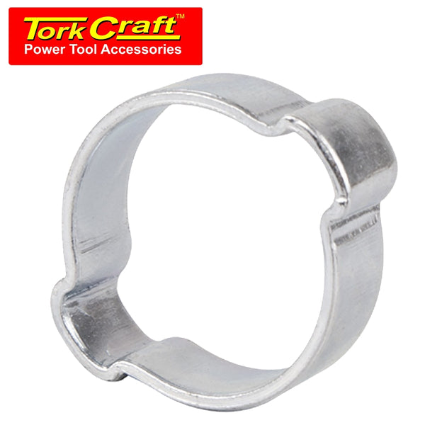 TORK CRAFT DOUBLE EAR CLAMP C/STEEL 17-20MM (10PC PER PACK) - Power Tool Traders