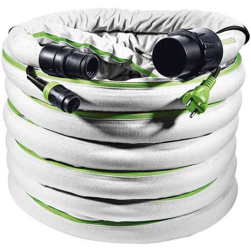 FESTOOL SUCTION HOSE PLUG IT D 32/22 ANTISTATIC SMOOTH D32/22X10 AS-GQ - Power Tool Traders