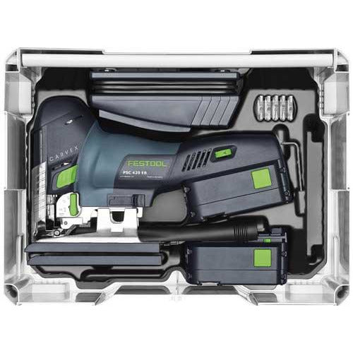 FESTOOL CORDLESS PENDUL PSC 420 EB-PLUS LI 15 - Power Tool Traders