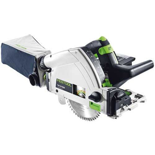 FESTOOL CORDLESS PLUNGE-CUT SAW TSC 55 LI REB-BASIC 561737 - Power Tool Traders