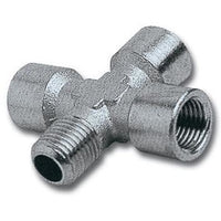 4-WAY CONNECTOR 1/4'3F/1M PACKAGED - Power Tool Traders
