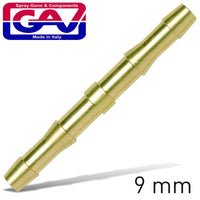 HOSE CONNECTOR BRASS 9MM - Power Tool Traders