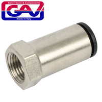 CONNECTOR 6MM X 1/8' F FOR NYLON TUBING - Power Tool Traders